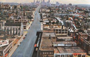 Chicago - olio su tela - 100x140 - 2014