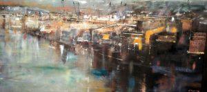 Bilbao - olio su tela - 70x50 - 2016
