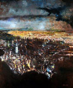 La Tempesta - olio su tela - 90x115 - 2014