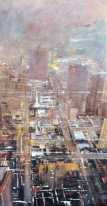5th Street - olio su tela - 40x70 -2016