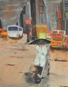 Rain Man - olio su tela 60x80 - 2015